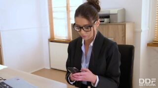 DDFNetwork: Sybil – XXXtra Horny During Office Hours
