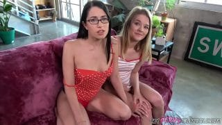 Family Manipulation – Dani Lynn and Alex Coal – Sexually Exploring Daughter Comes with Hot BFF Perks